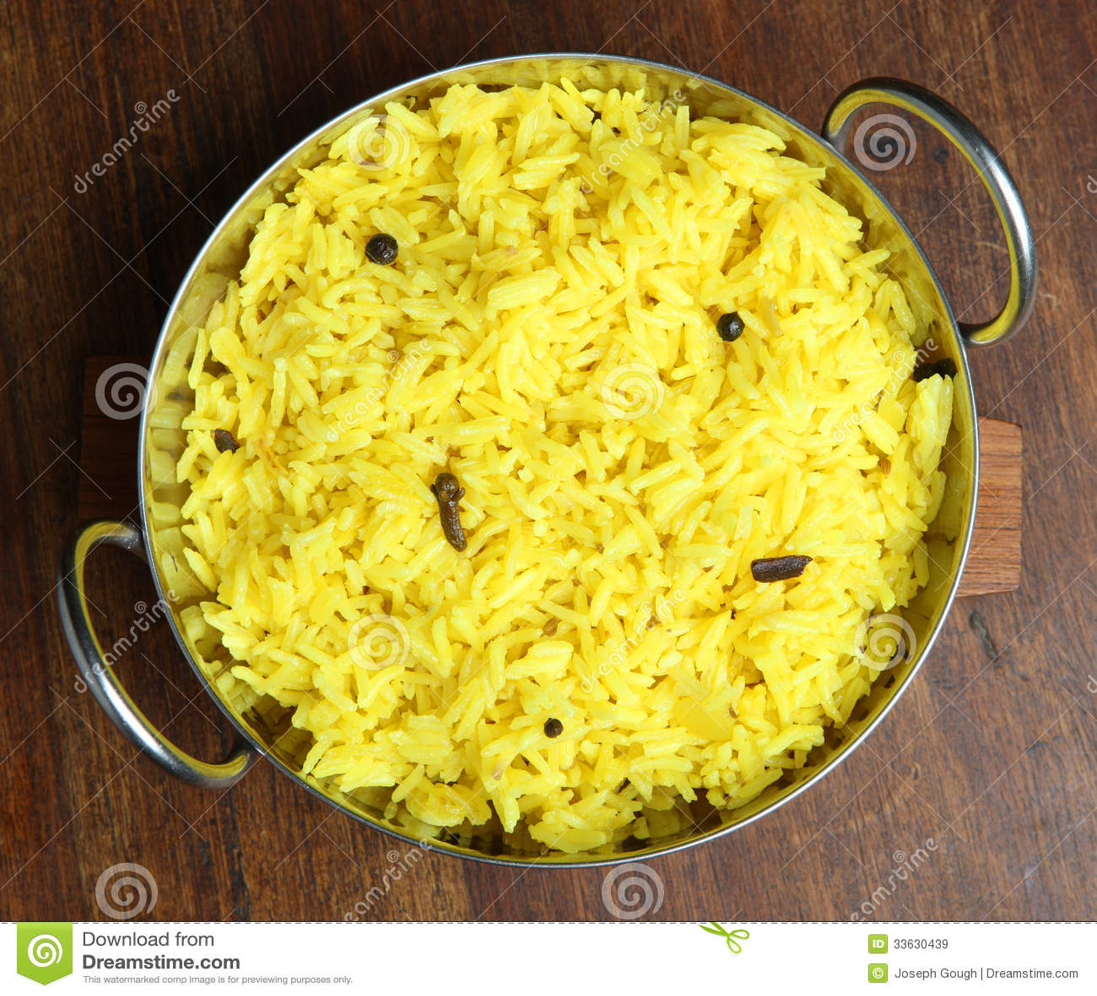 Pilau Indian Food