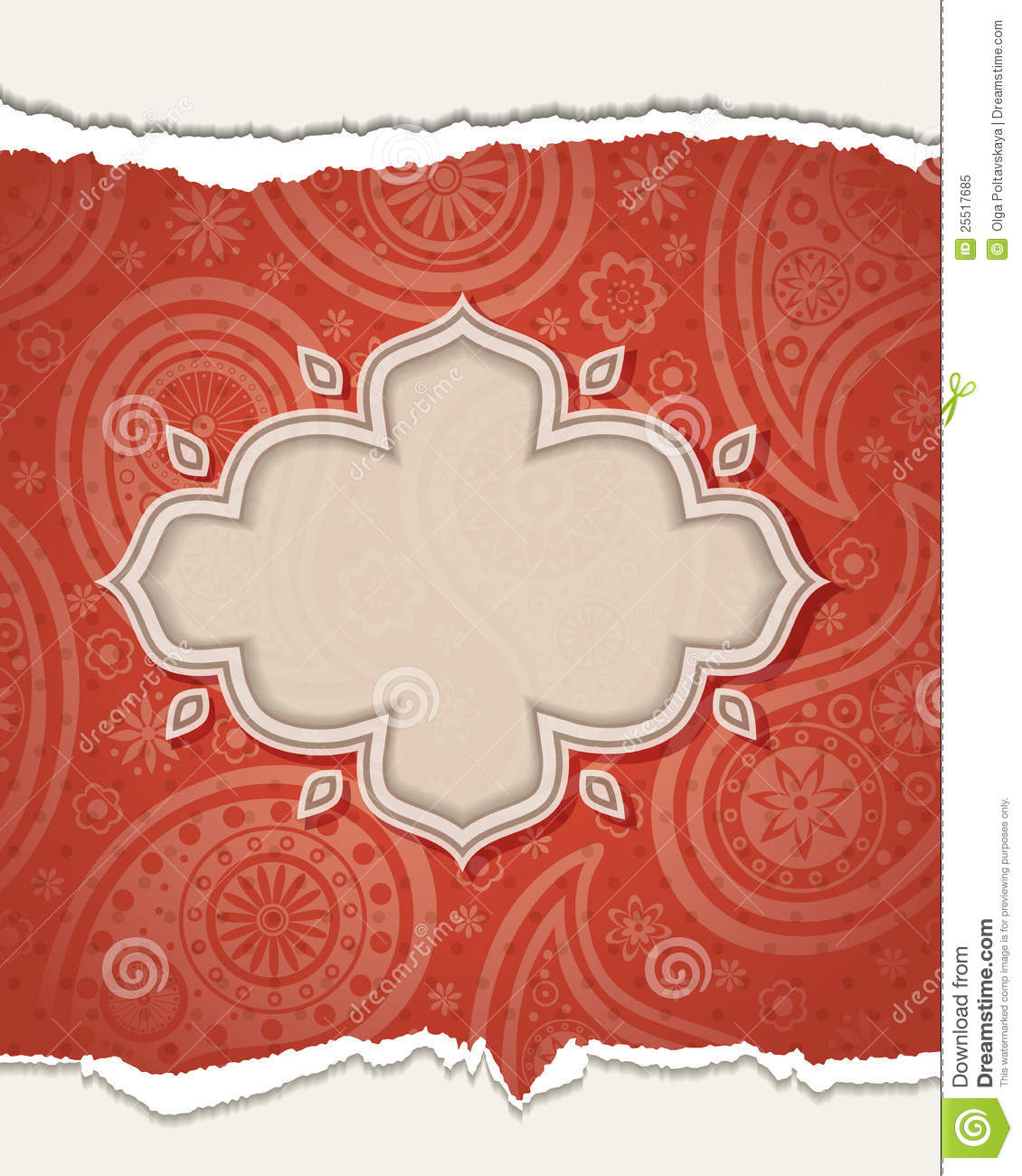 Indian Frame Stock Vector Image Of Frame Pattern India 25517685