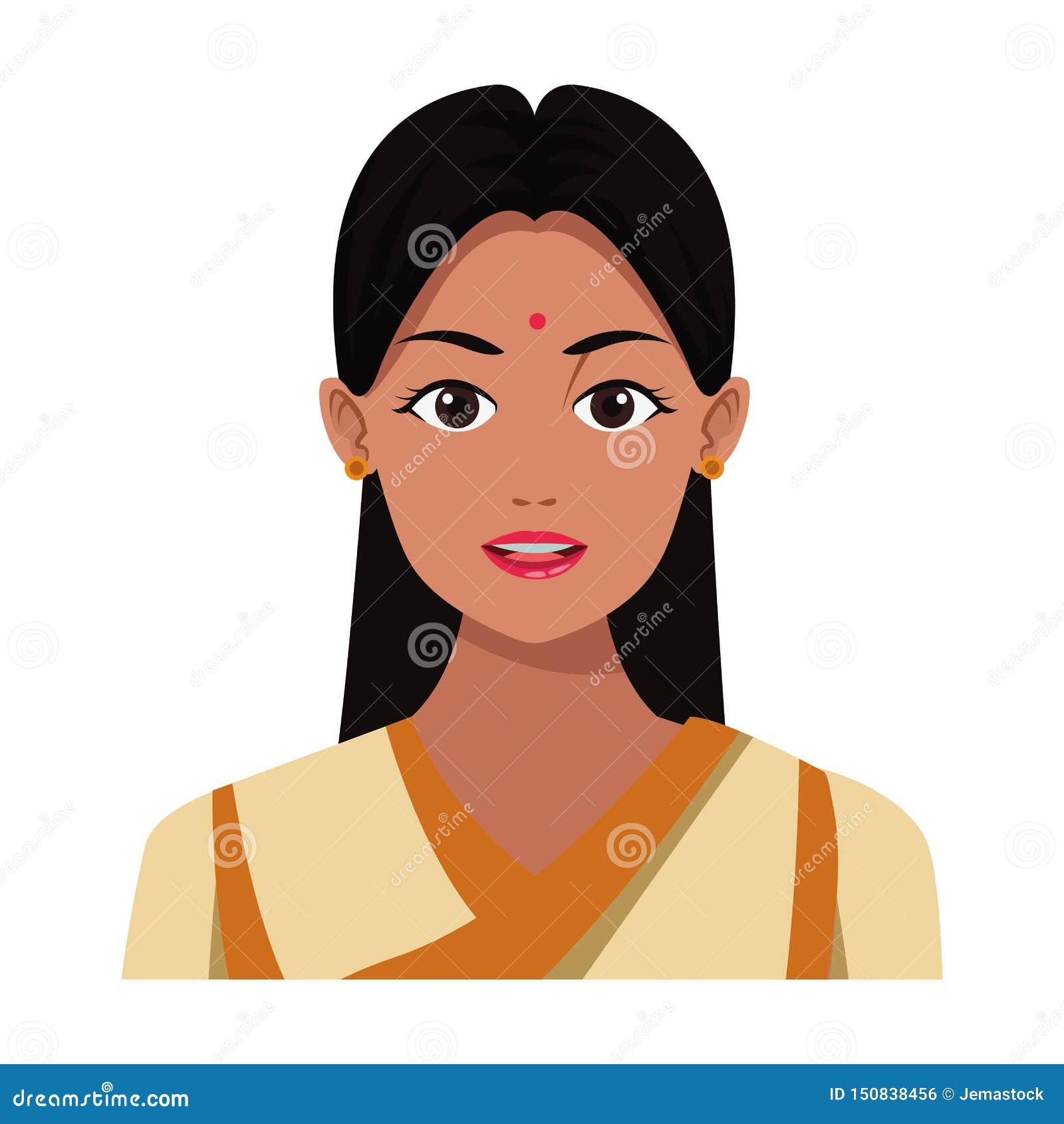 Indian Cartoon Girl Stock Illustrations 5 945 Indian Cartoon Girl Stock Illustrations Vectors Clipart Dreamstime