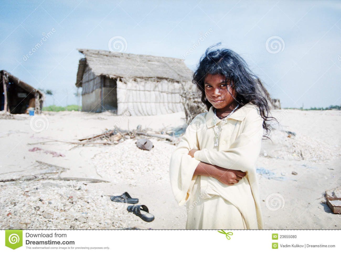 Indian Girl In Village Editorial Image Image Of Beauty - 23655080-5108