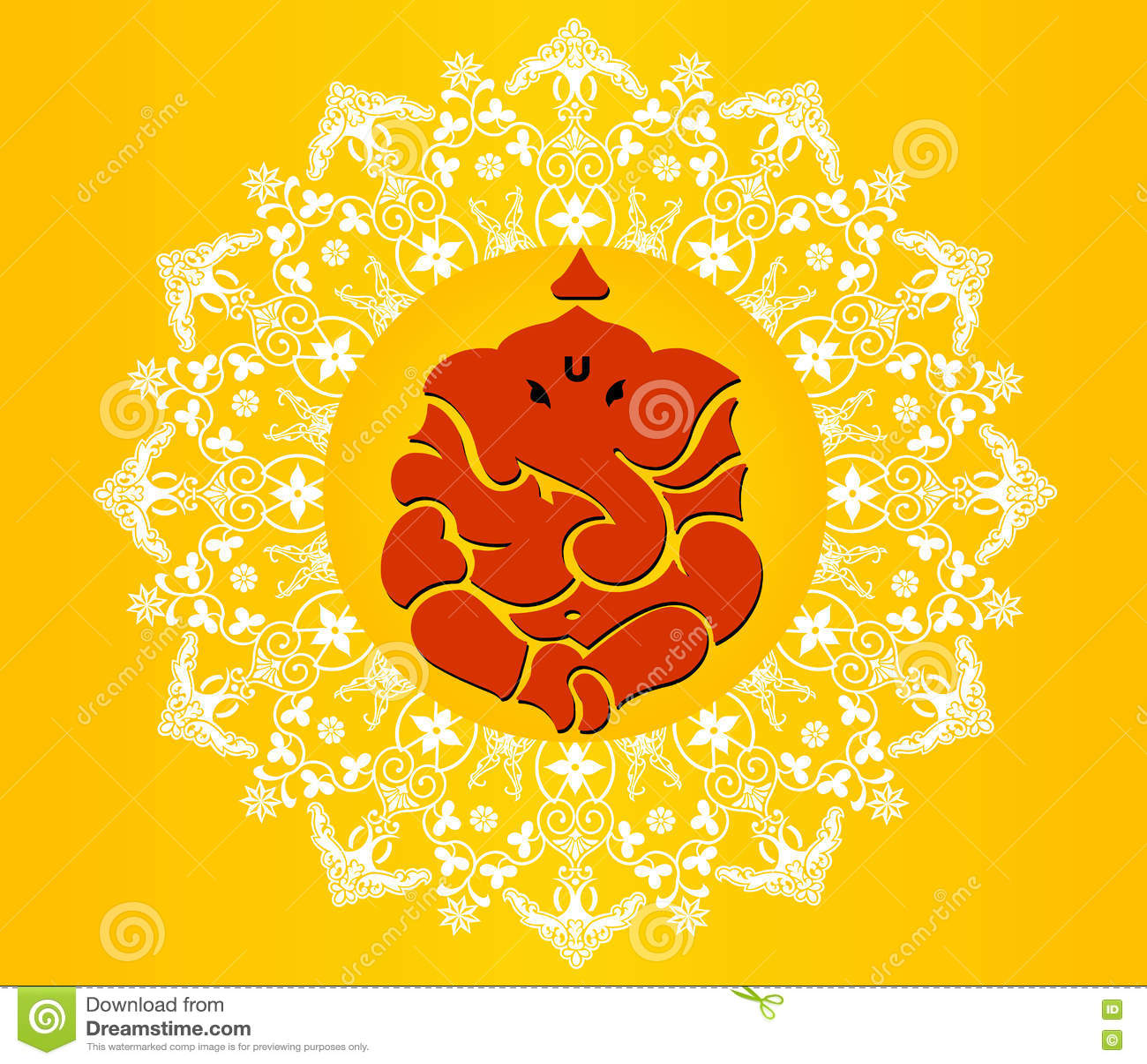 Indian god ganesha ganesh chaturthi card in vibrant colors stock indian god ganesha ganesh chaturthi card in vibrant colors buycottarizona