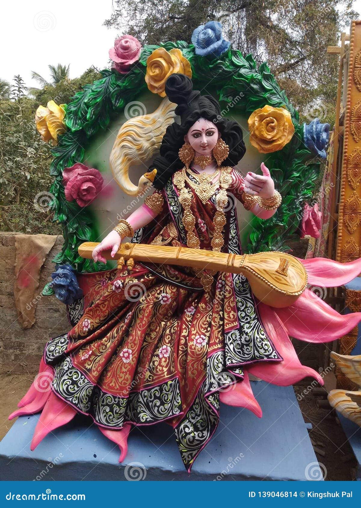 Indian goddess stock photo  Image of education, name - 139046814