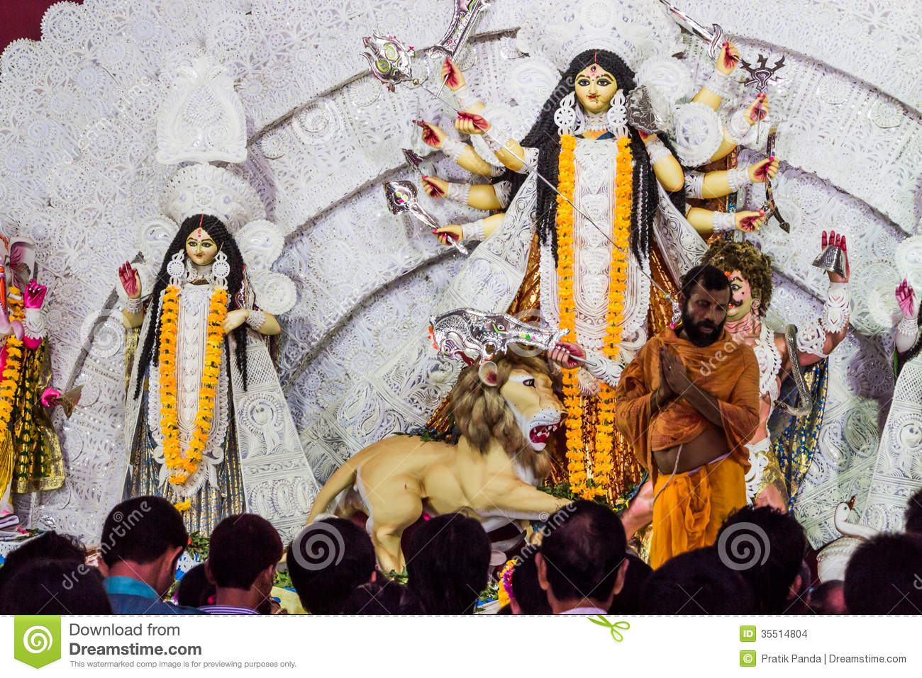 a history of the worship of durga in india In may 2014, indian prime minister narendra modi travelled to the riverside holy  city of varanasi to worship mother goddess ganges in gratitude for his  mata or  mother india, who was inevitably a hindu and a version of durga  atreyee sen  (2009) inventing women's history: female valour, martial.