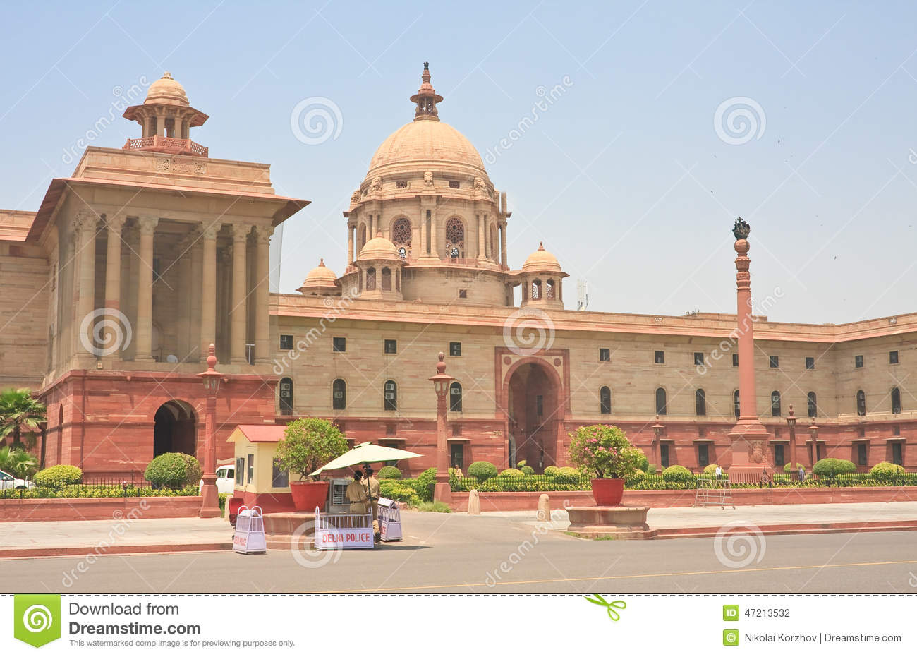 The Indian Government Buildings. New Delhi Editorial