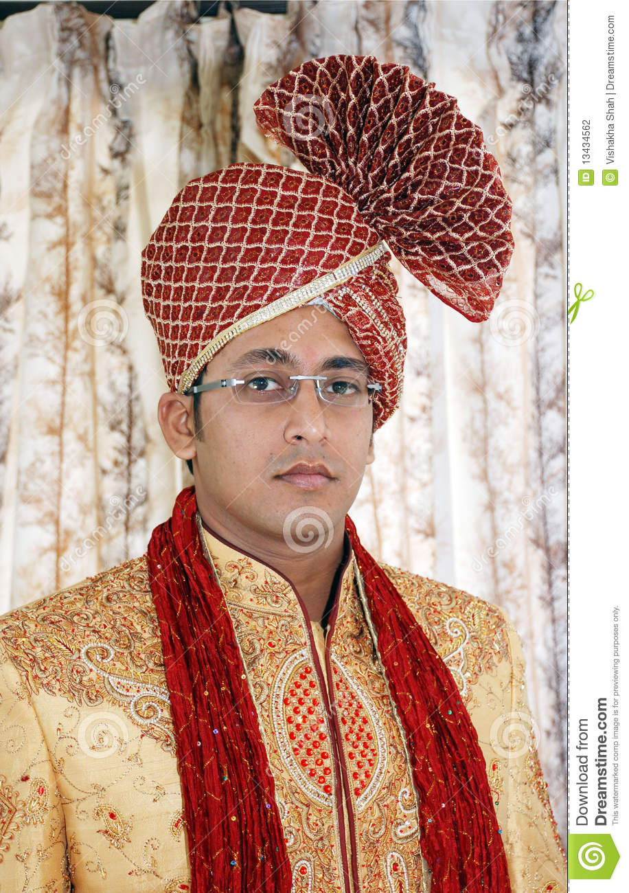 Indian Groom Stock Photography Image 13434562
