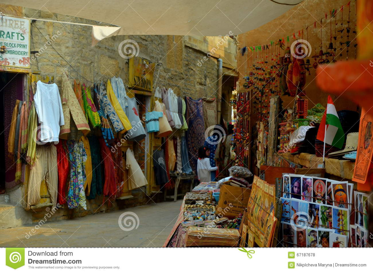 Indian Handicrafts Editorial Stock Photo Image Of Traveling 67187678