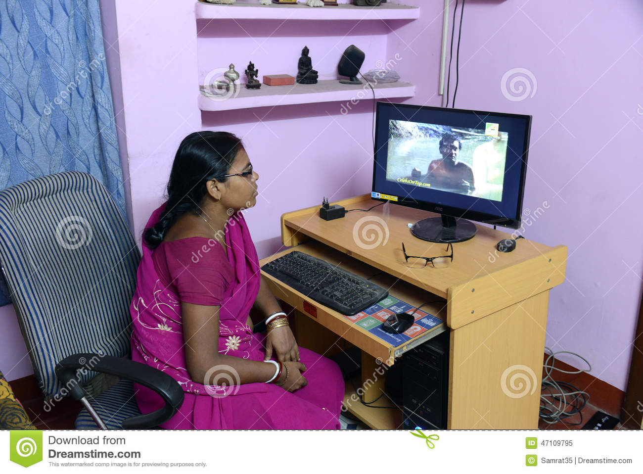 Indian Housewife Editorial Image Image Of Bengali Indian