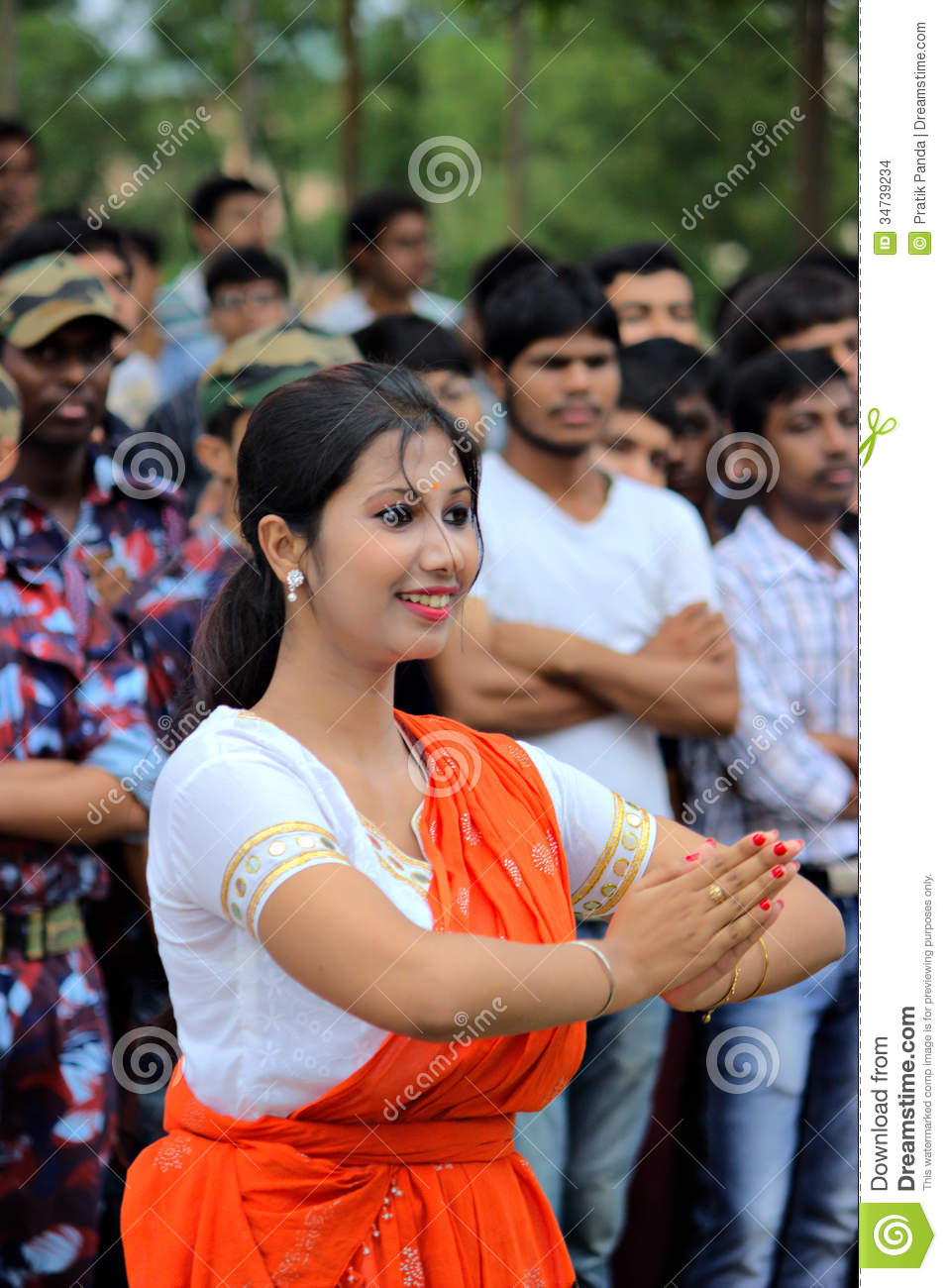 Indian Independence Day Celebration Editorial Stock Image -9958