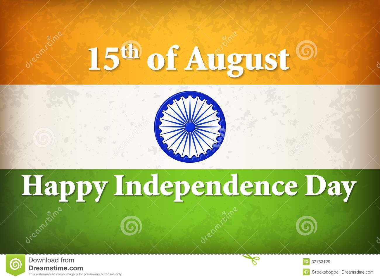 Indian Independence Day Illustration 32763129 Megapixl