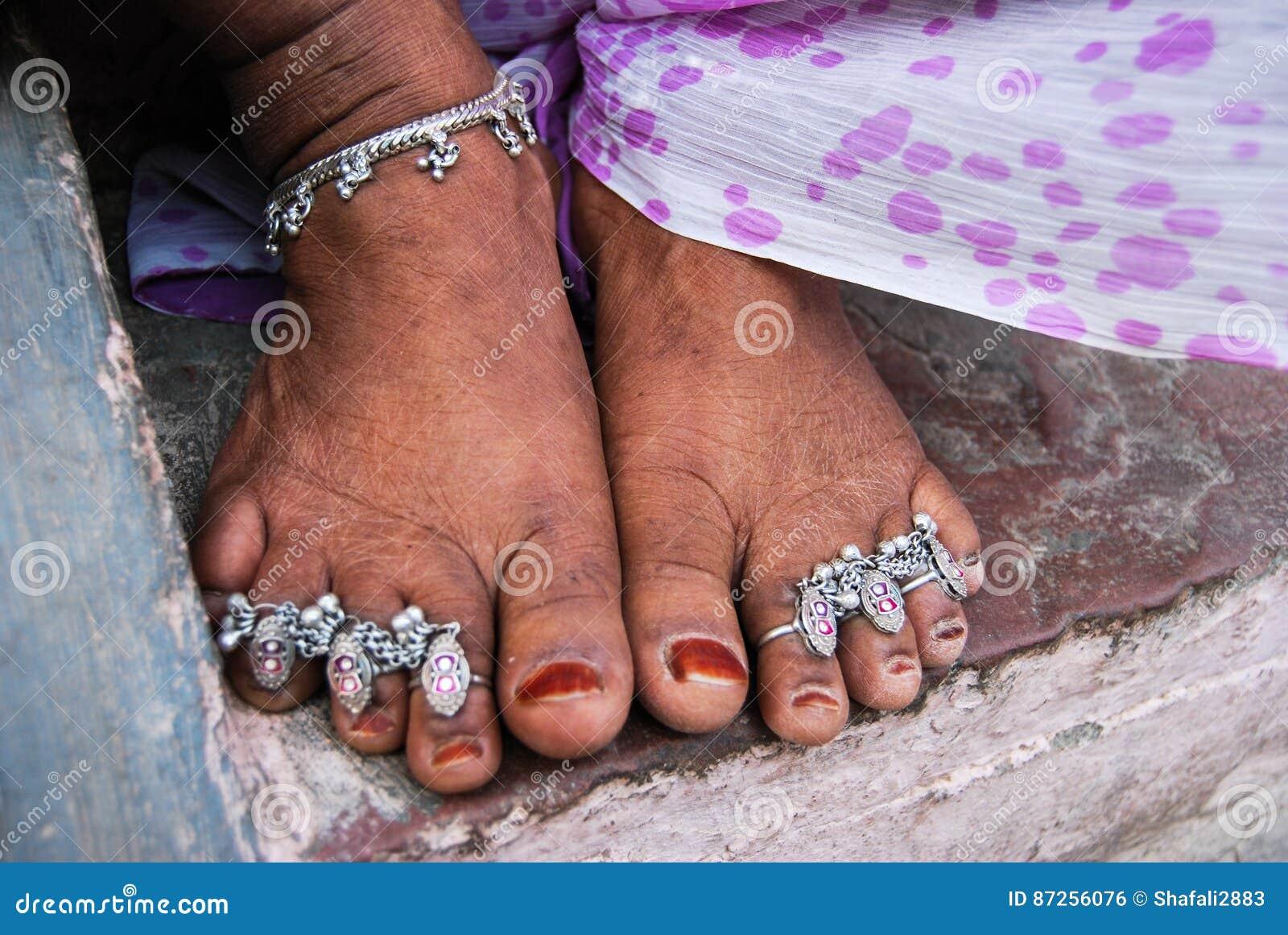 Feet indian women pretty