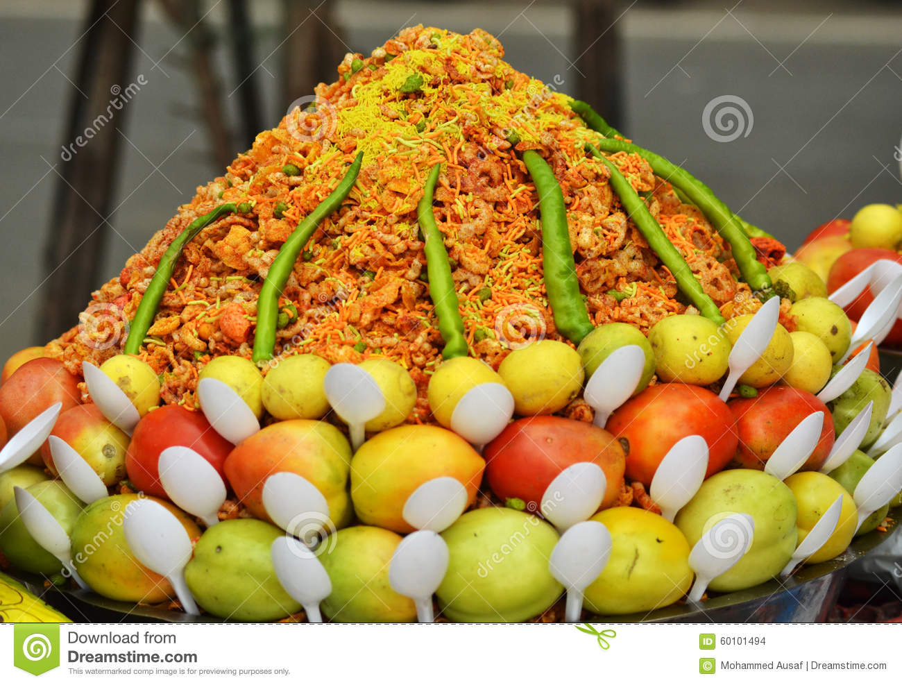 Indian junk food stock photo image 60101494 for Artisan cuisine of india
