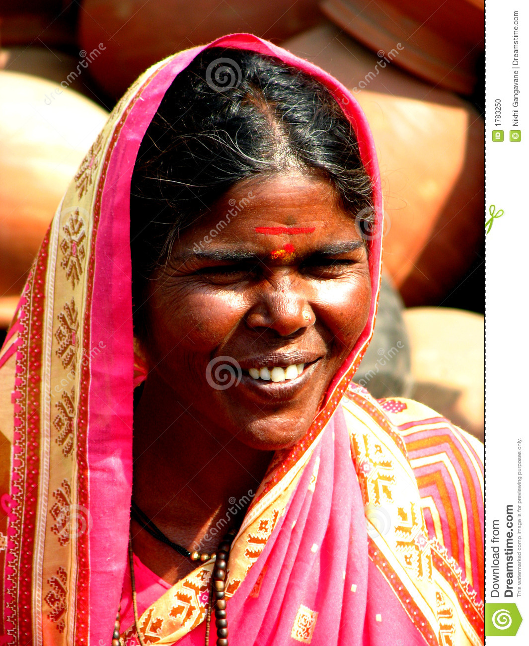 Indian Lady Stock Photo - Image 1783250-8155