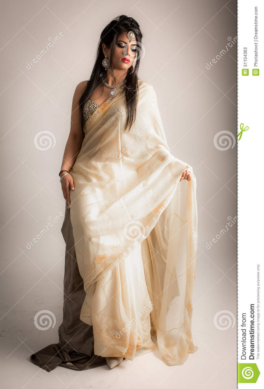 Indian Women in White Dresses