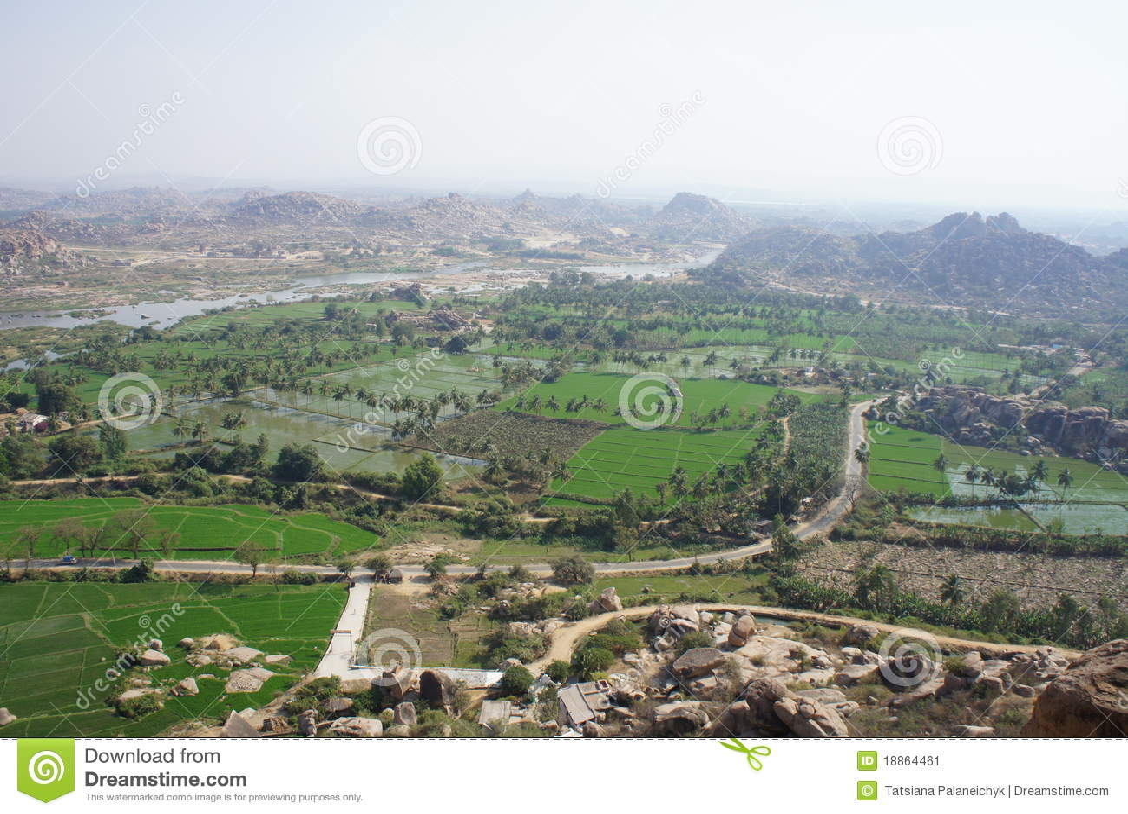 The Indian landscape