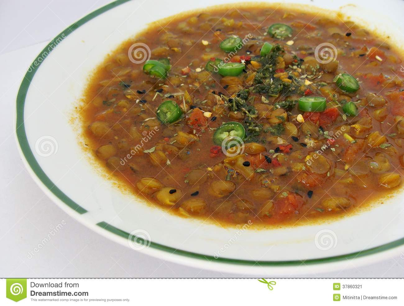 Indian Lentil and Tomato Soup