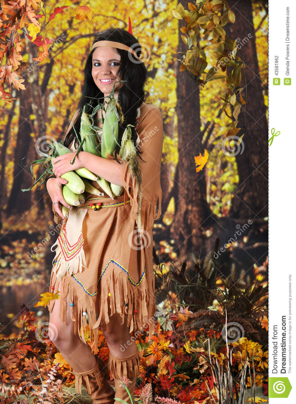 beautiful Indian teen carrying an armload of corn. She's in a ...: dreamstime.com/stock-photo-indian-maiden-carrying-corn-beautiful...