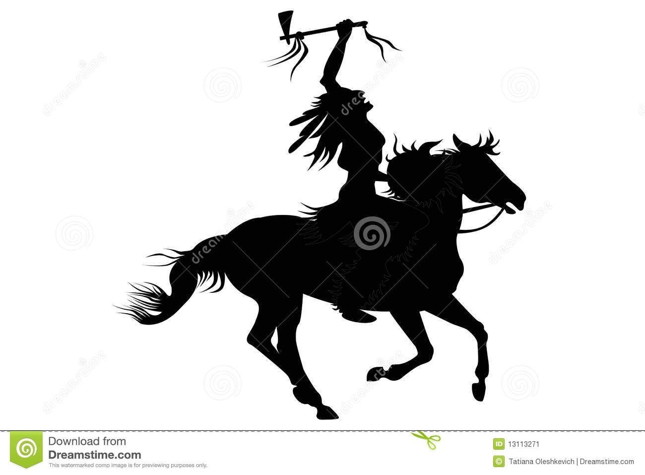 Indian Man Sitting On A Horse Stock Image Image 13113271