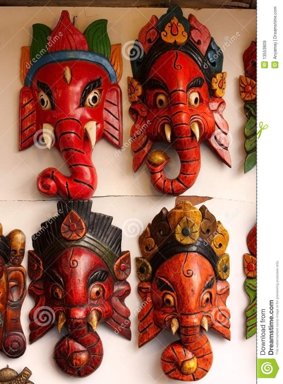 Credit Cards For Fair Credit >> Indian Masks Royalty Free Stock Images - Image: 13553809