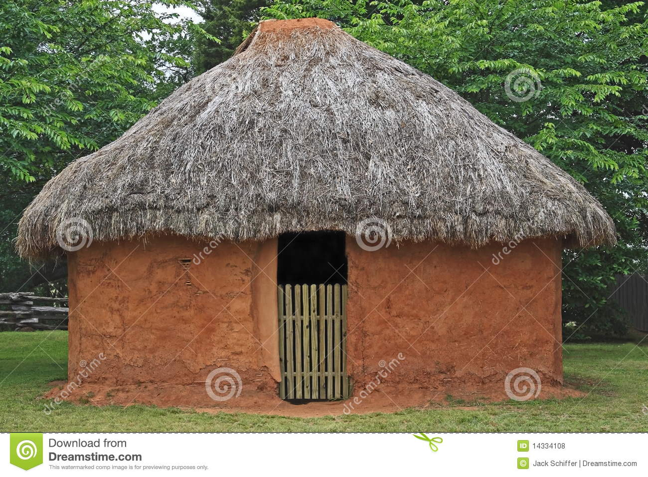Indian Mud Hut Stock Photo Image Of Architecture