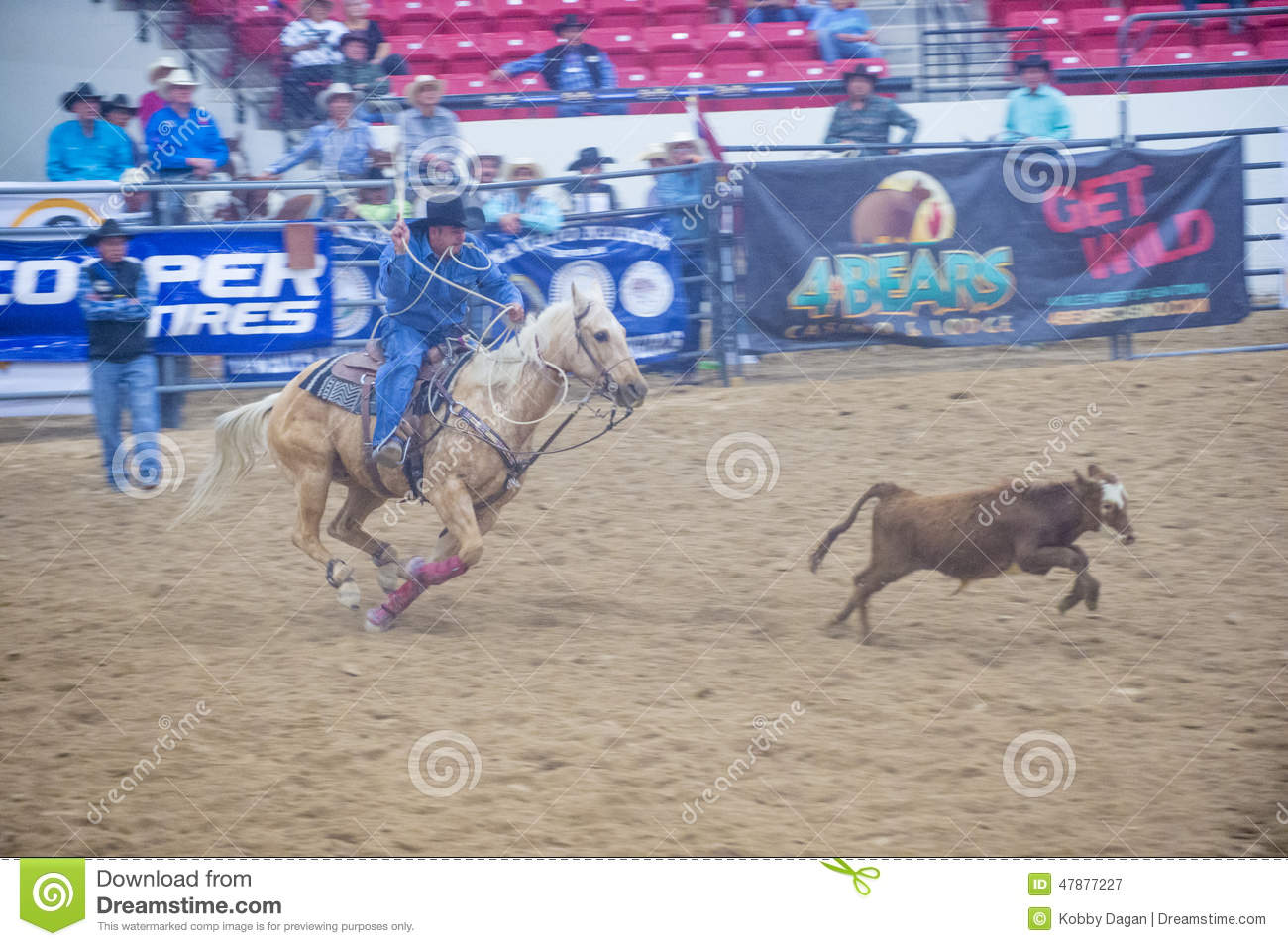 Indian National Finals Rodeo Editorial Photography Image