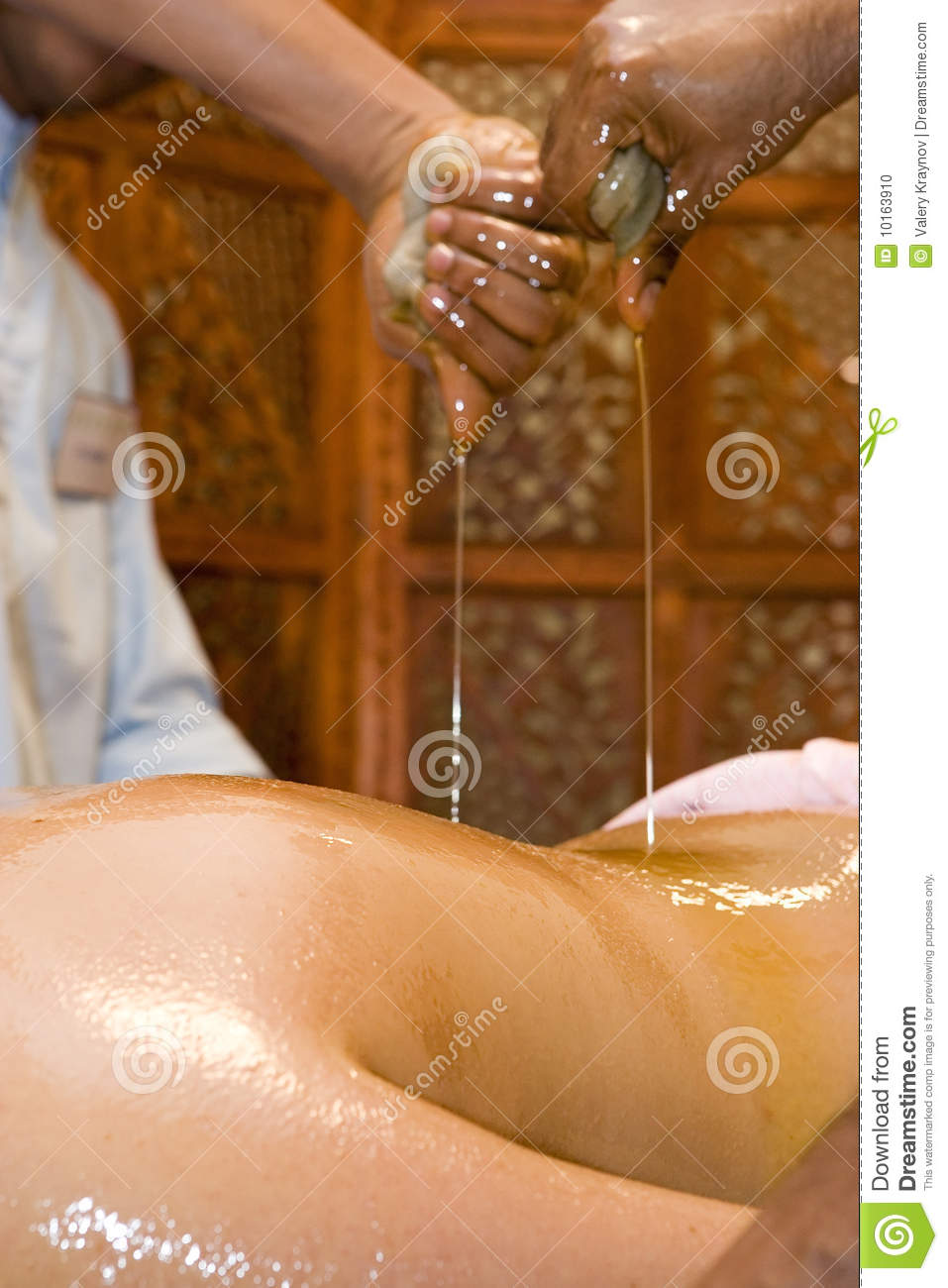 oiled massage videos