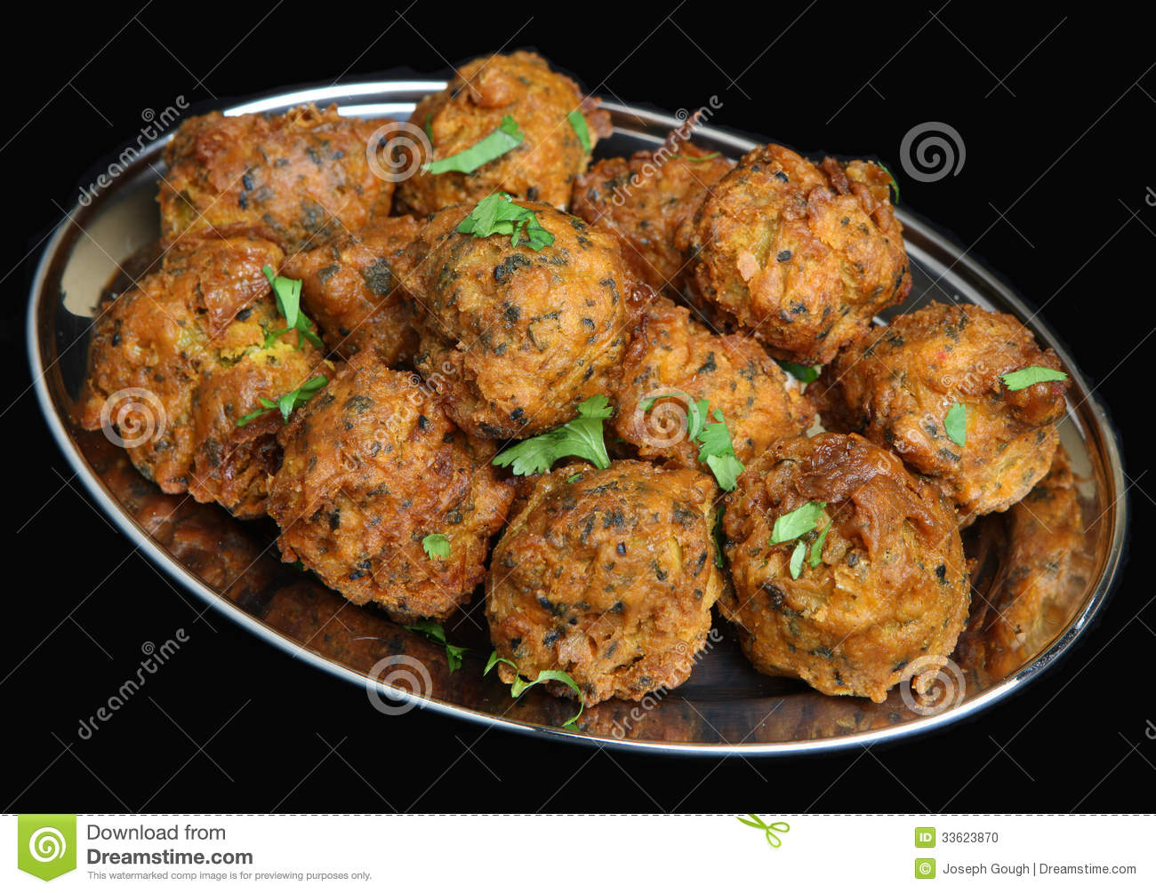 Indian Onion Bhajis