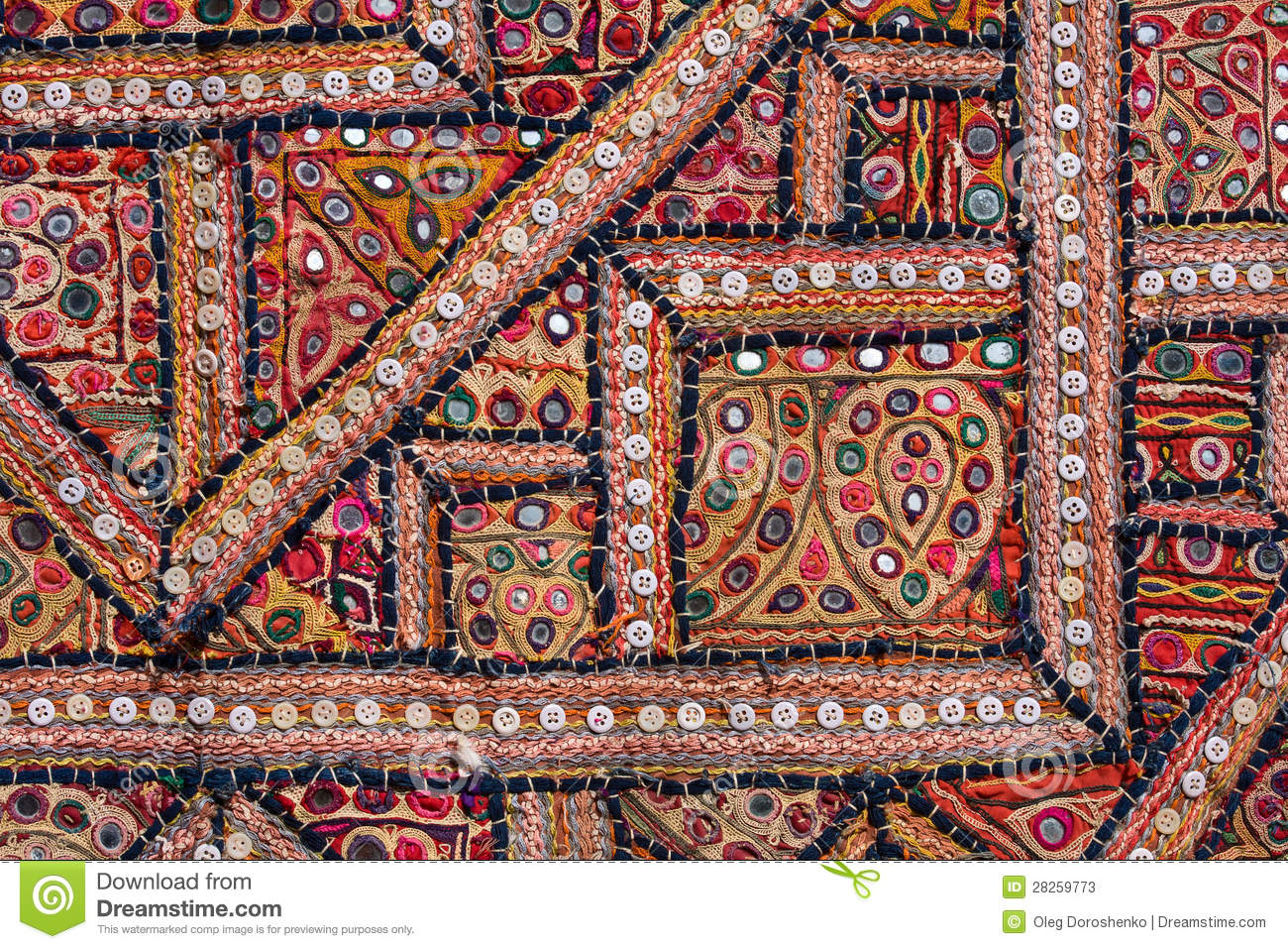 Indian Patchwork Carpet Stock Photos Image 28259773