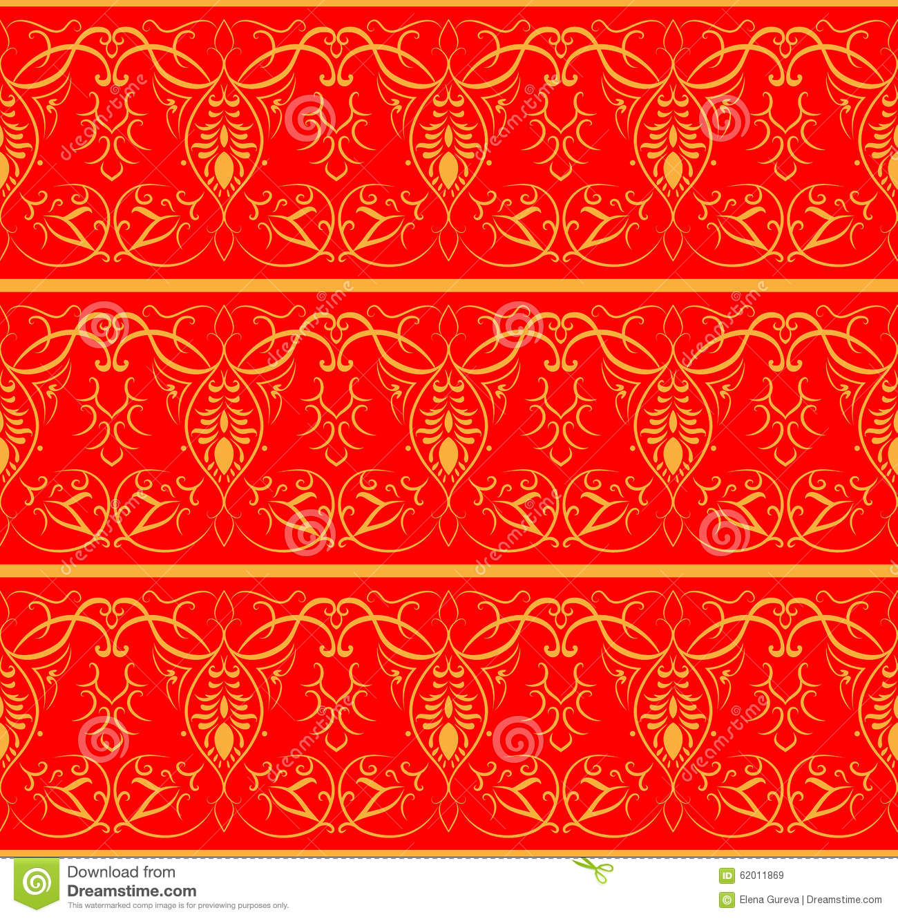 Indian pattern. Seamless background.