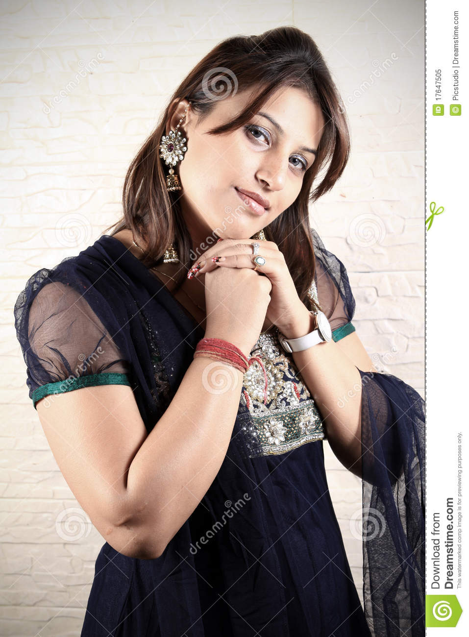 Indian Punjabi Girl Model Royalty Free Stock Photo - Image -9651