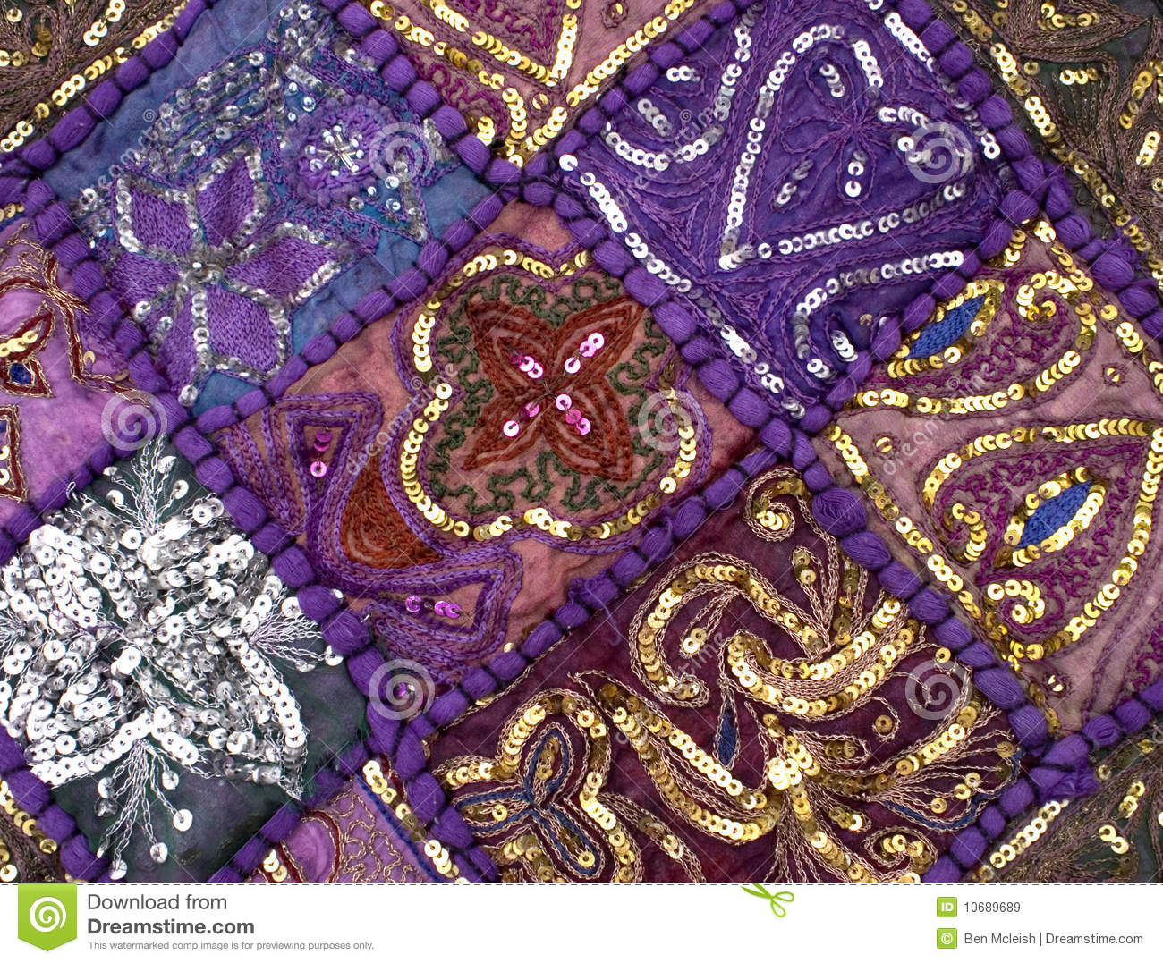 Indian Quilt Royalty Free Stock Images Image 10689689