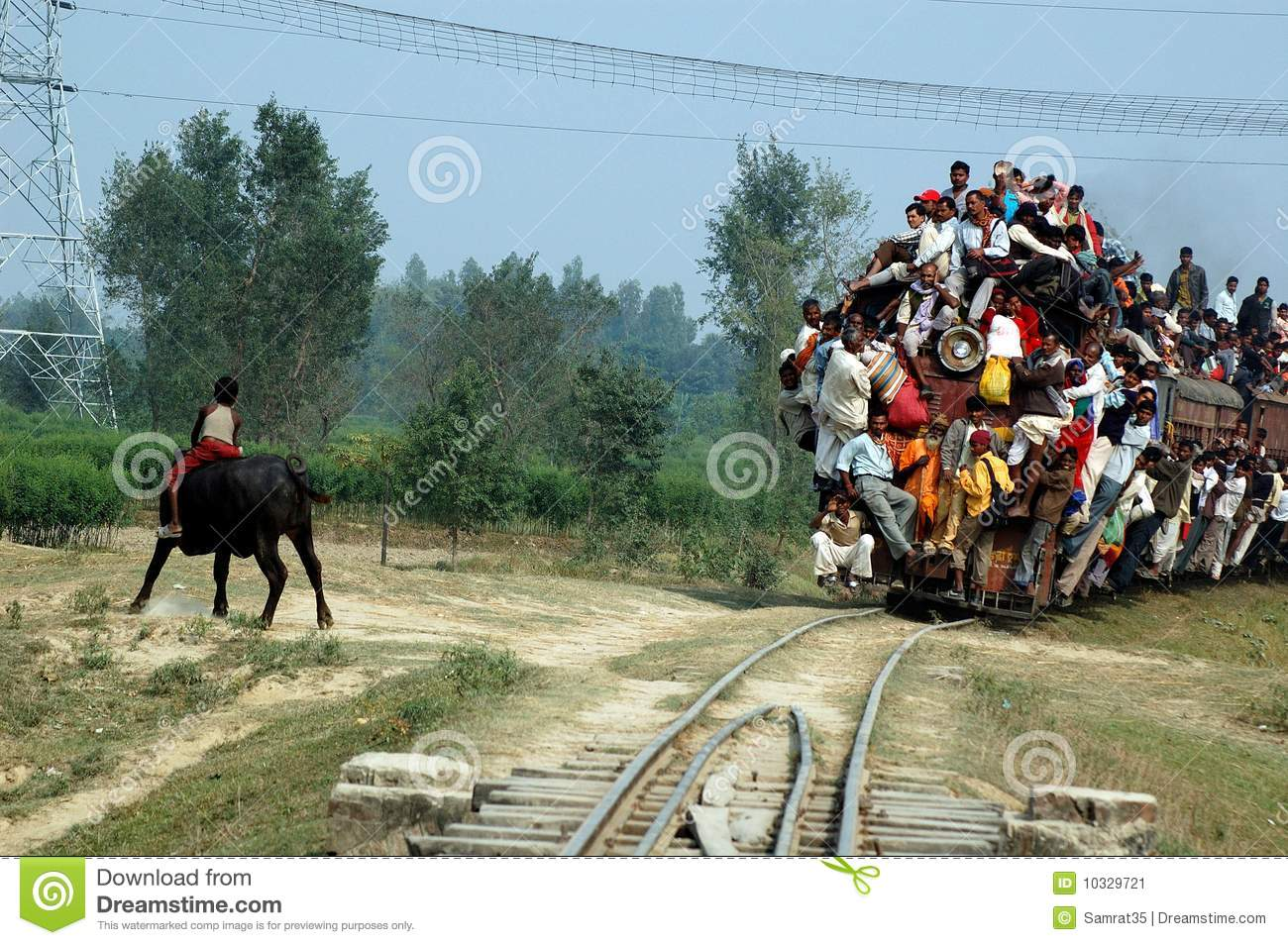 Indian Rail Journey.