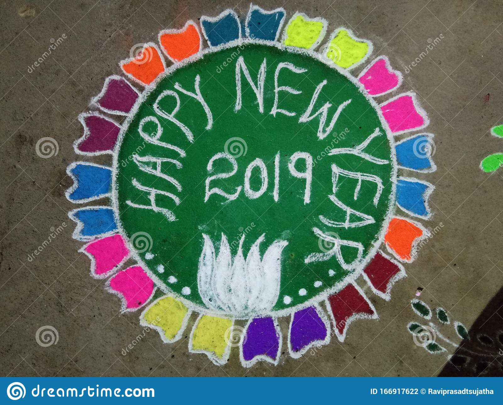 indian rangoli art new year picture stock photo image of indian year 166917622 dreamstime com