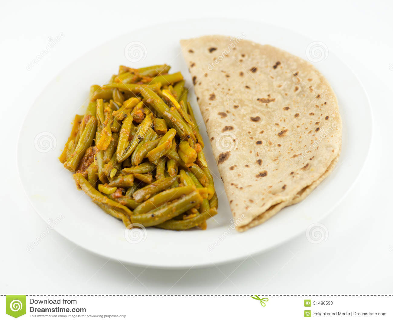 how to make green beans sabzi