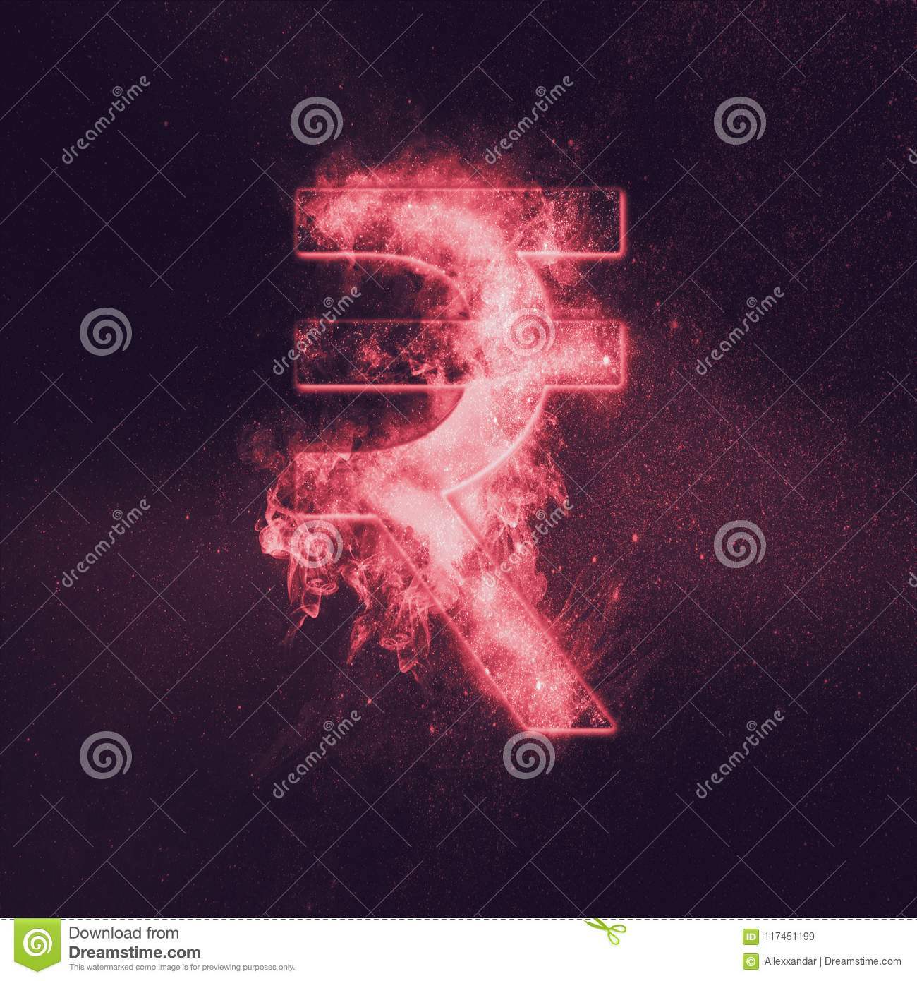 Indian Rupee Sign Indian Rupee Symbol Monetary Currency Symbol