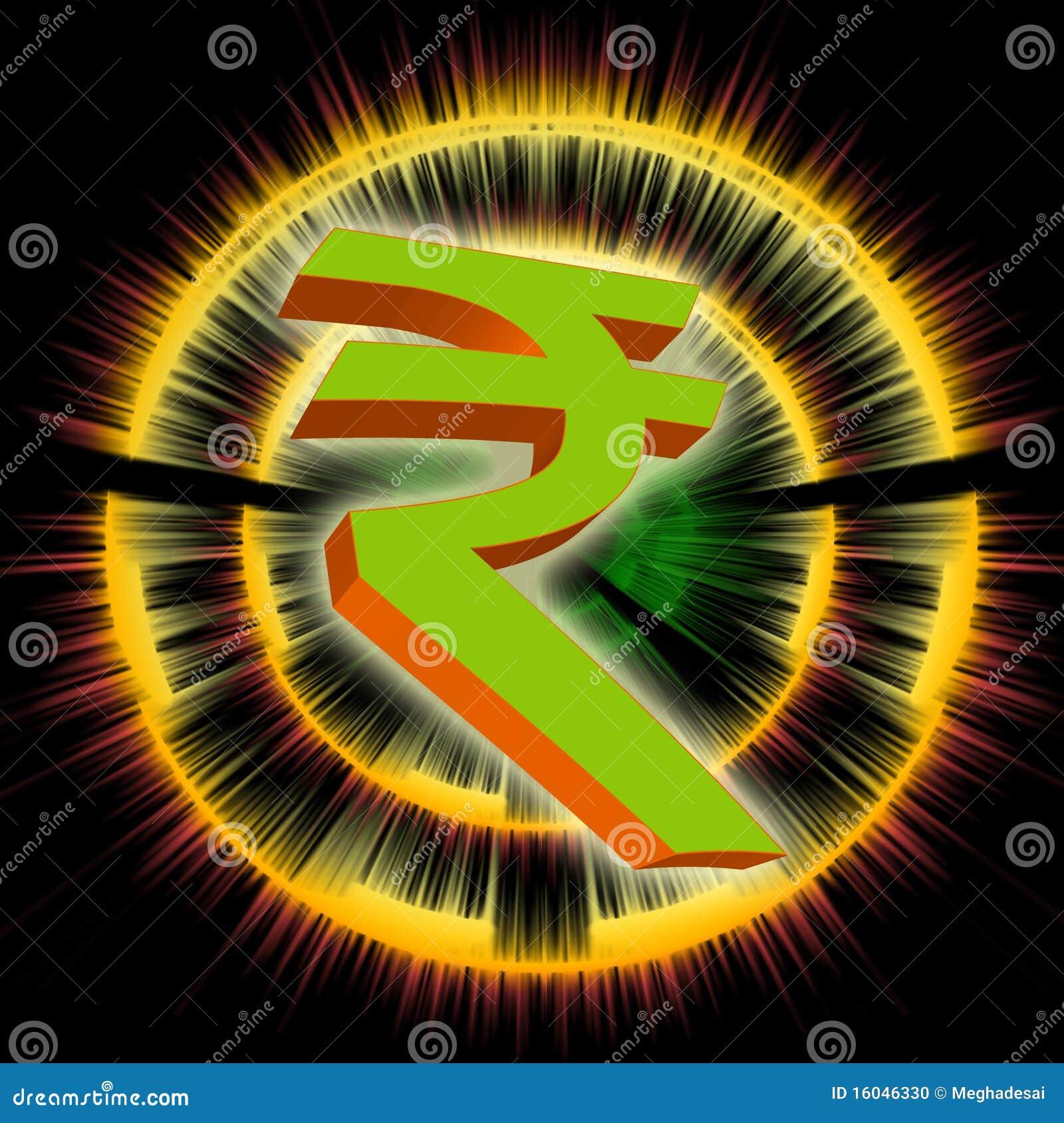 Indian rupee symbol stock illustration illustration of orange indian rupee symbol biocorpaavc Choice Image