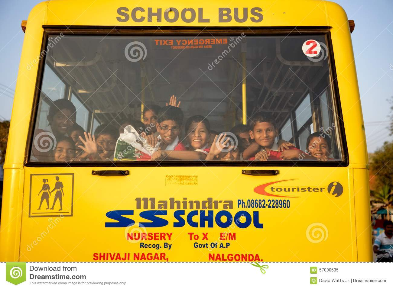 Indian School Children Editorial Image Image Of Continent 57090535