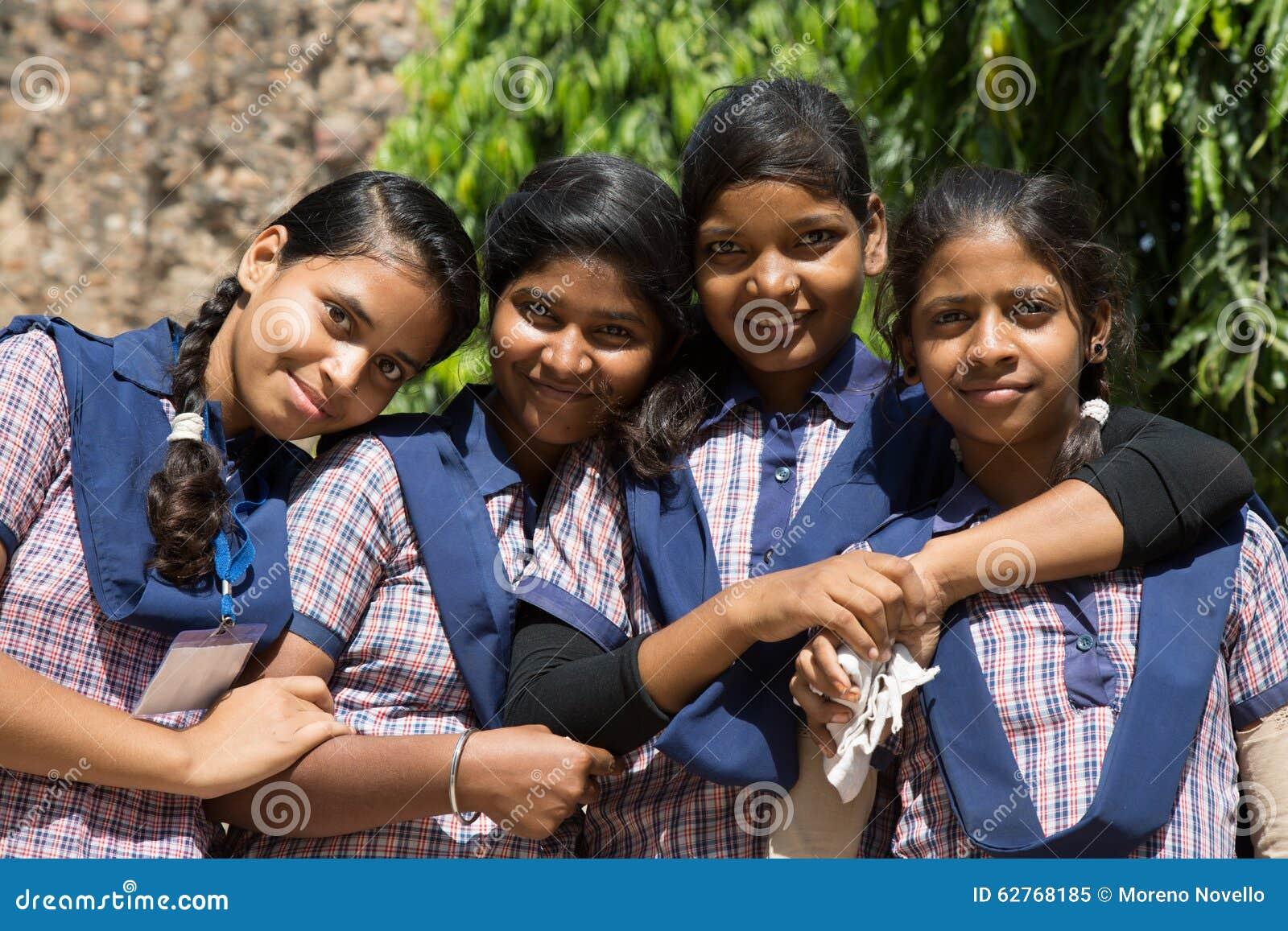 Indian school girl fun