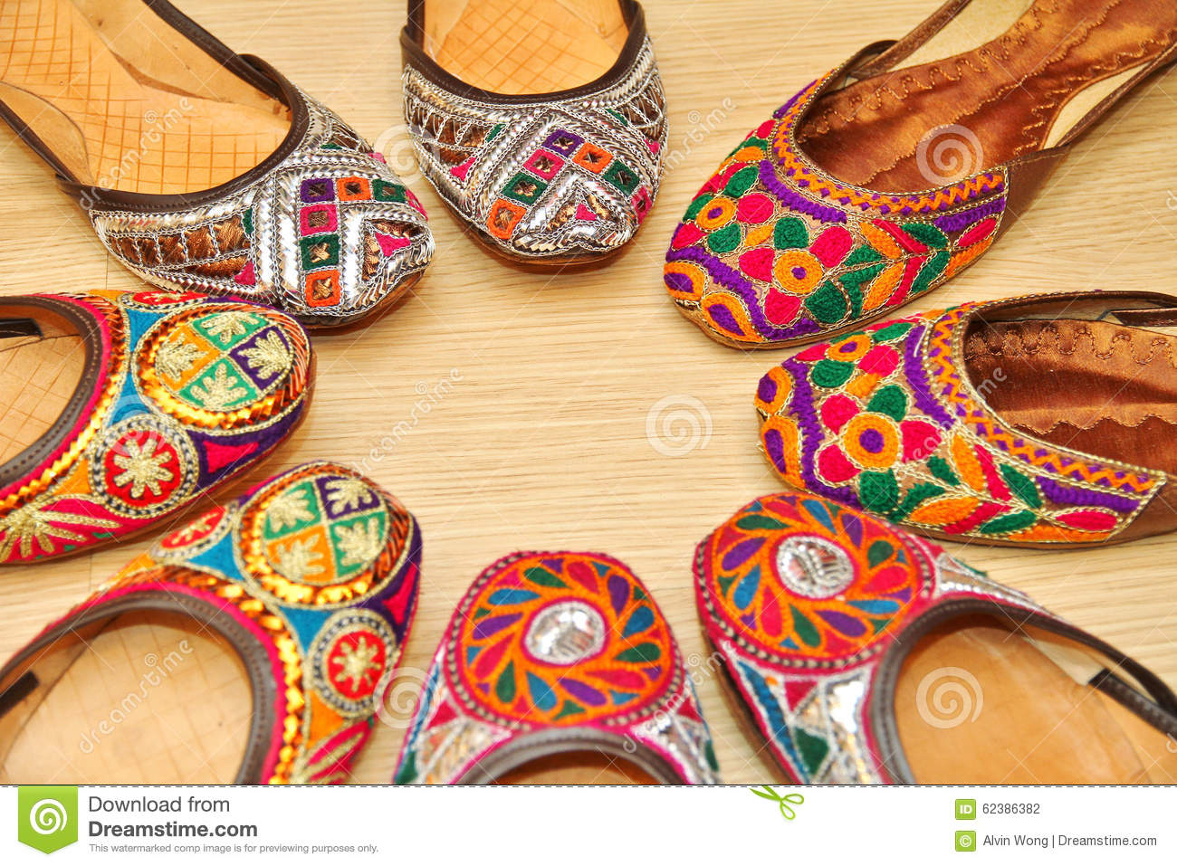 Indian Shoes Stock Photo Image Of Sandals Indian