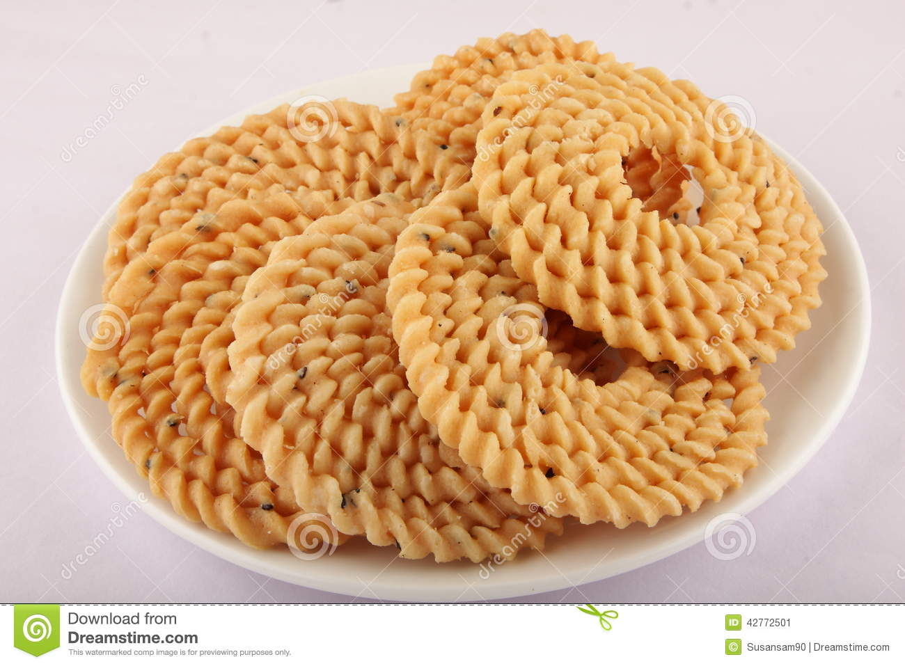 Indian snack - chakali,