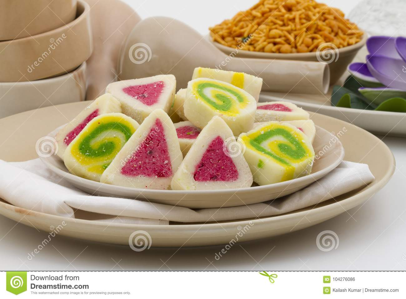 Bengali Peda Stock Photo. Image Of Cooked, Background