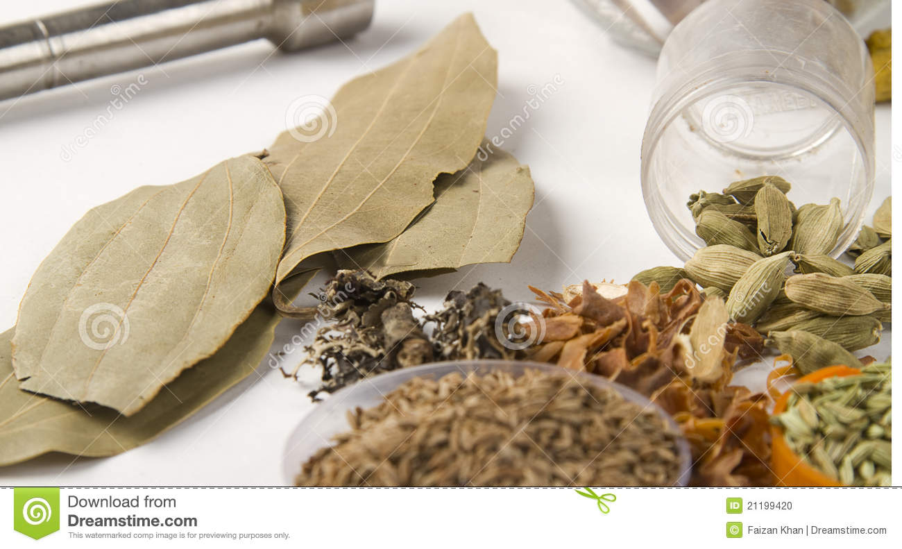 Indian Spice Bay Leaf with cardamoms