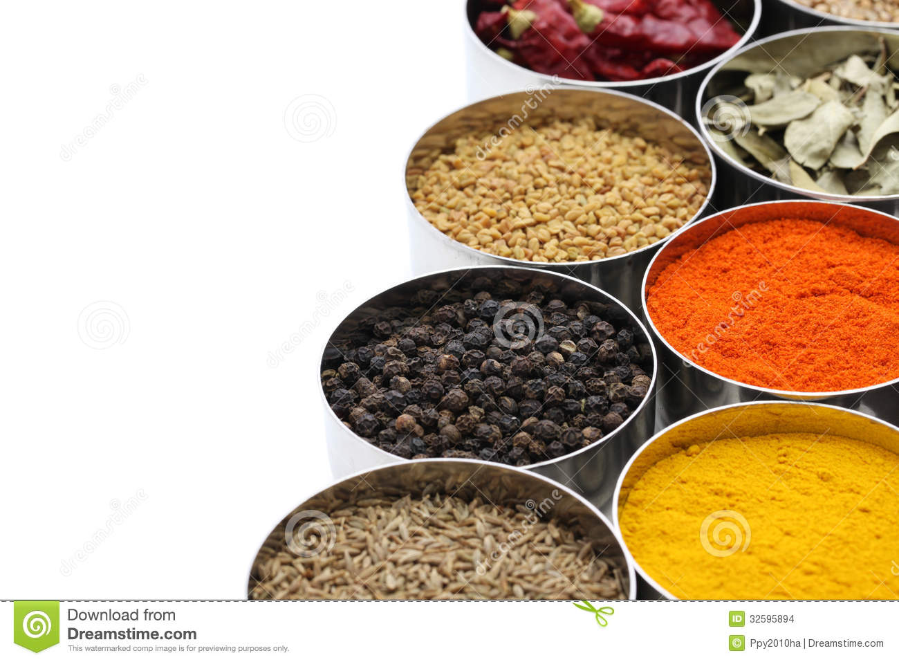 Indian spices collection stock photo image of ajwain for 7 spice indian cuisine