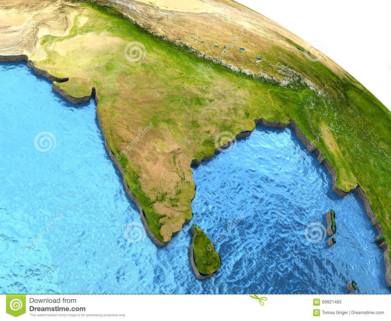 Indian subcontinent on earth stock illustration illustration of indian subcontinent on earth gumiabroncs Images