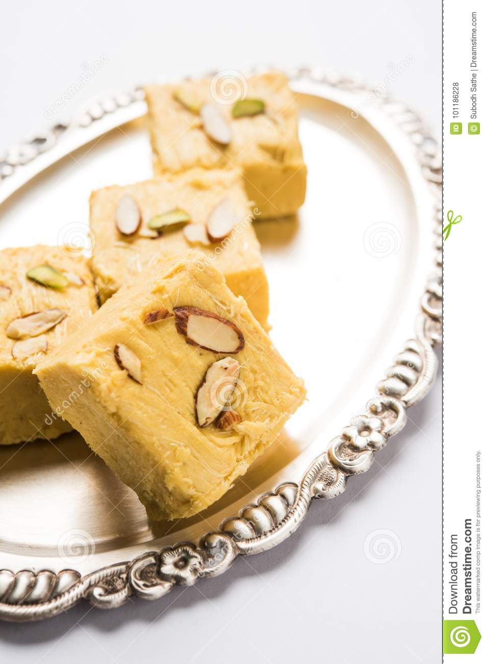Indian sweet soan roll or soan papdi or patisa stock photo image download comp forumfinder Choice Image