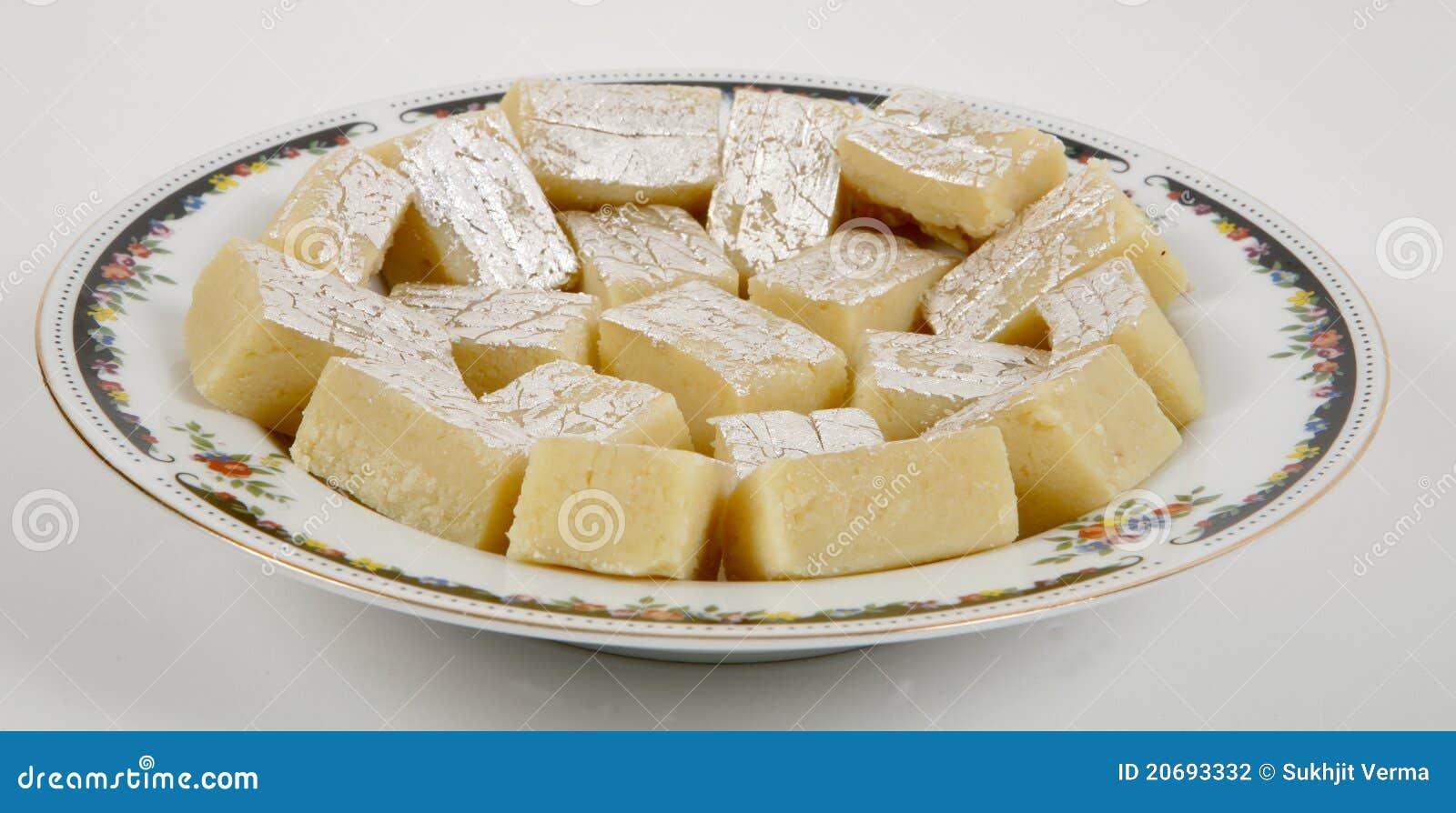 indisk dessert halva