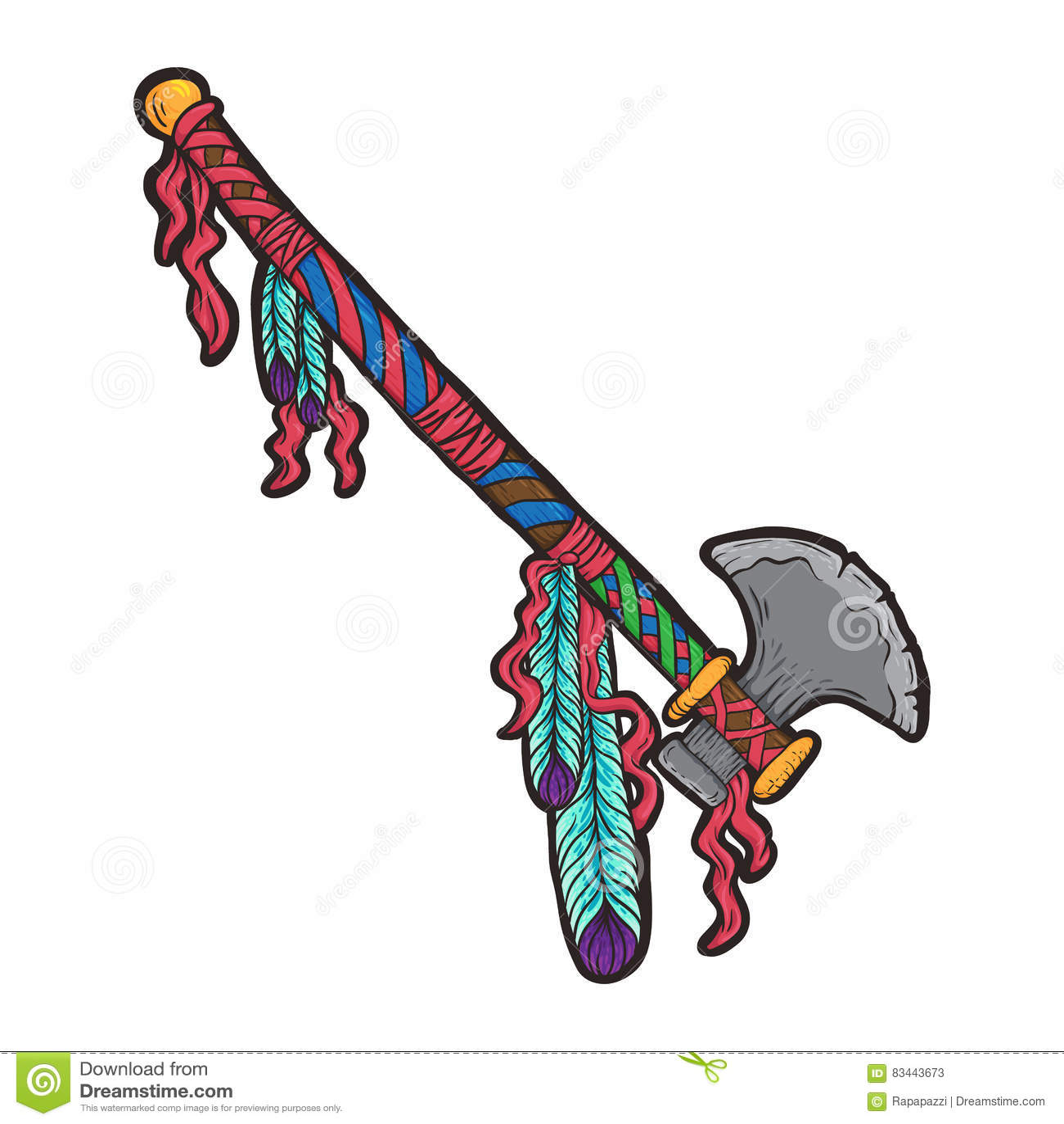 Indian symbol of war stock vector illustration of native 83443673 indian symbol of war biocorpaavc Images