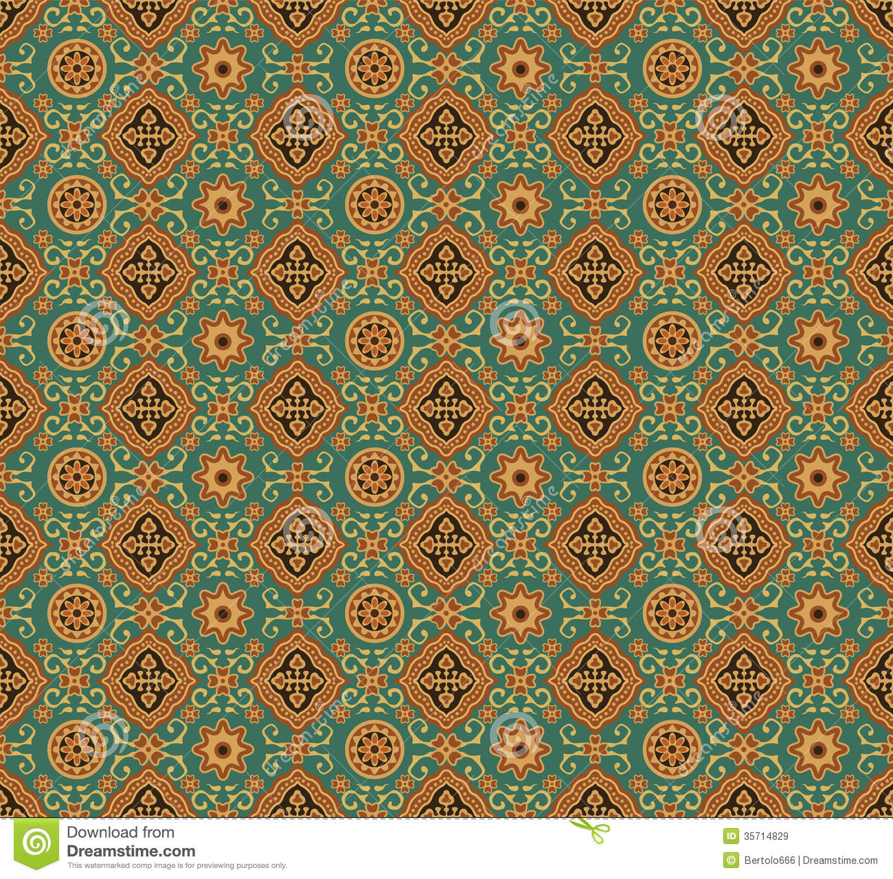 Indian Texture Seamless Royalty Free Stock Images