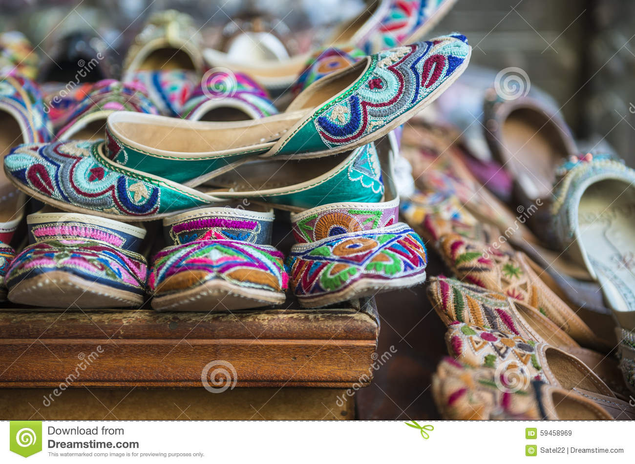 121772d790db Indian traditional shoes stock image. Image of asian - 59458969
