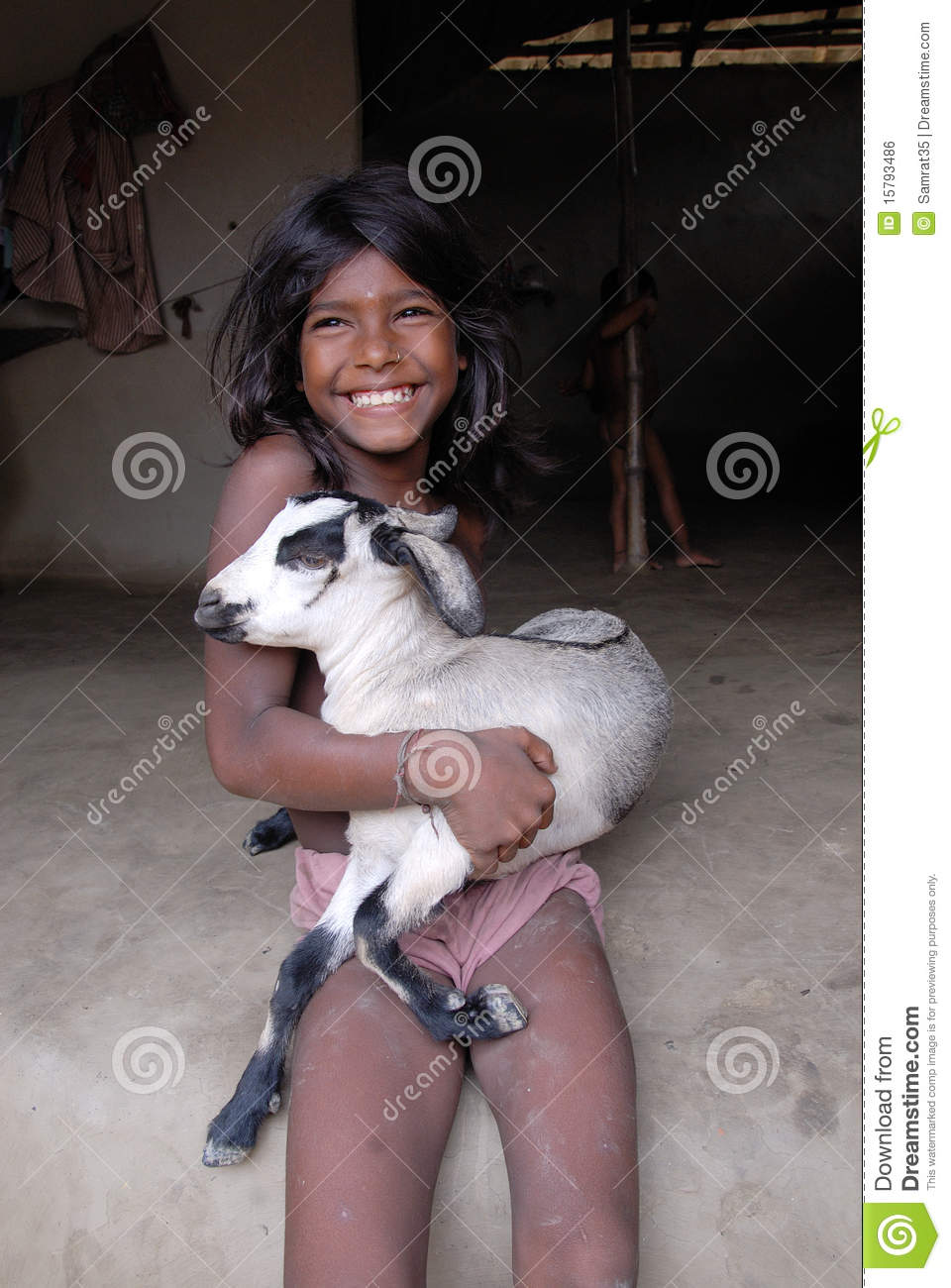 Indian Village Girl Editorial Photo Image Of Smile -1773