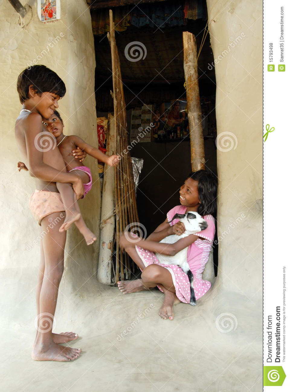 Indian Village Girl Editorial Stock Photo Image Of Aria - 15793498-1458